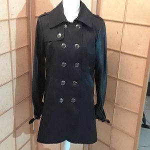Steve Madden black pea jacket